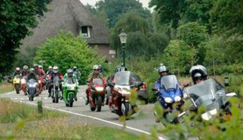 Motorclub Nieuwegein houdt Molenkruierrit