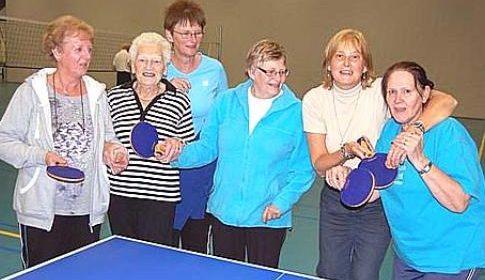 50-Plussers sporten in Nieuwegein