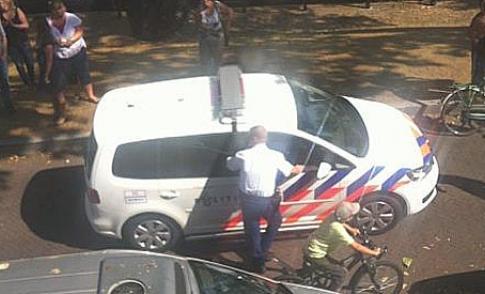 Overlastplegers aangehouden na vorderen lesauto in Nieuwegein