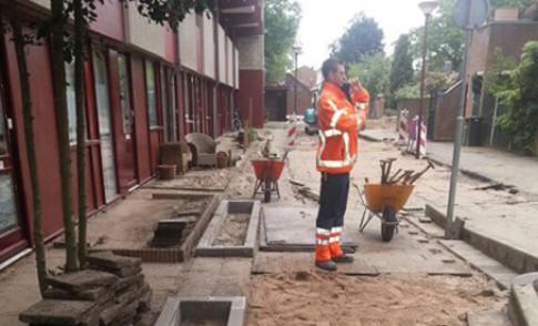 Straten in deel van de wijk de Doorslag worden opnieuw bestraat