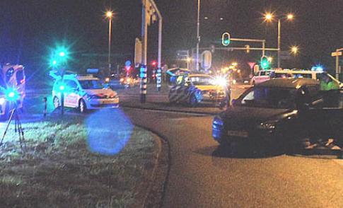 Twee gewonden bij botsing op kruising A.C. Verhoefweg – Galecopperlaan