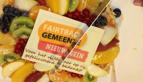 Nieuwegein weer twee jaar 'Fairtrade' gemeente