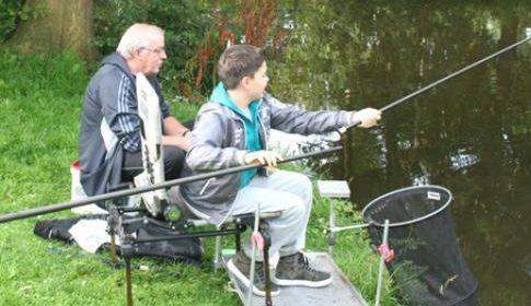 Viswedstrijd in Vreeswijk