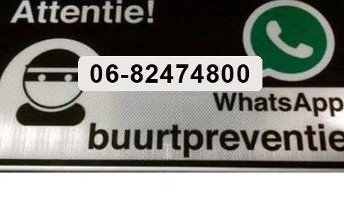 BuurtWhatsApp Nieuwegein