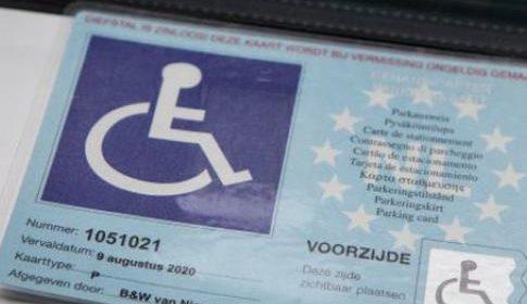 Tarieven gehandicaptenparkeervoorzieningen meer dan gehalveerd in Nieuwegein