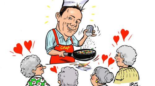 PENTekening: 'Wethouder aan de kook'