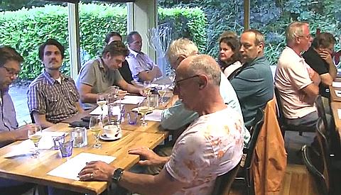 Geslaagde 'blind' bier proeverij in Nieuwegein