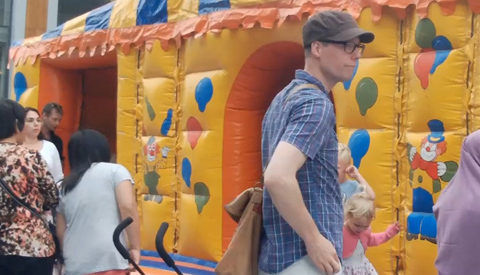 Geslaagde eerste dag van het Family Event op Cityplaza