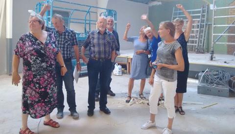 Verbouwing Fort Vreeswijk loopt voorspoedig