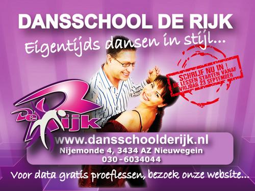 Schrijf je in bij Dansschool De Rijk!