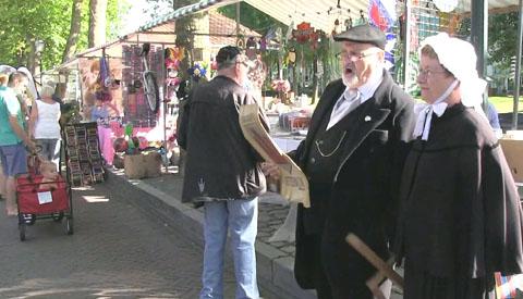 Jaarmarkt Vreeswijk met prachtig zomerweer