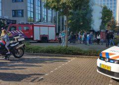 Open Dag brandweer Nieuwegein gezellig druk