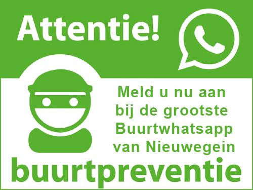 Meld je aan voor de Buurtwhatsapp Nieuwegein!