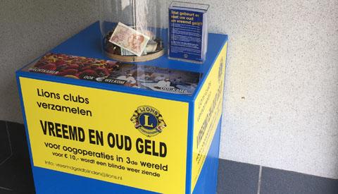 Lions halen al 53.3 kg aan oud geld op in Nieuwegein