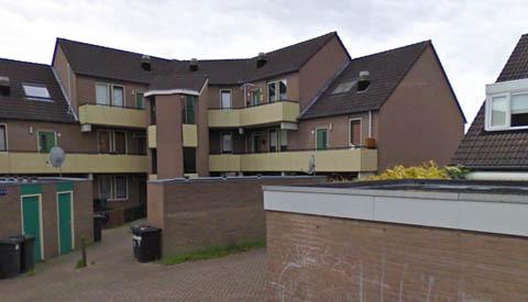Vrouw dood in woning aan de Mandolahof in de wijk Zulenstein