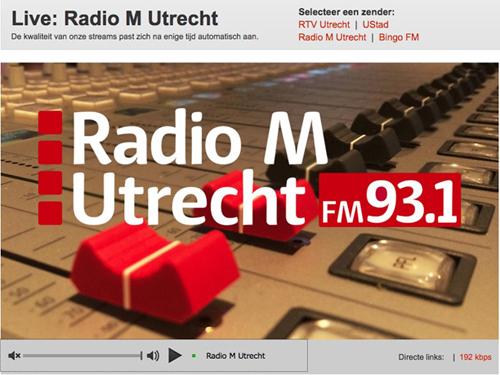 De zender van de provincie Utrecht!