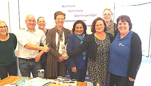 Marie-Chantal Den Brok-Valkenburg 'Beste Buur van Nieuwegein'