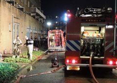 Bewoners huis uit door brand in snackbar