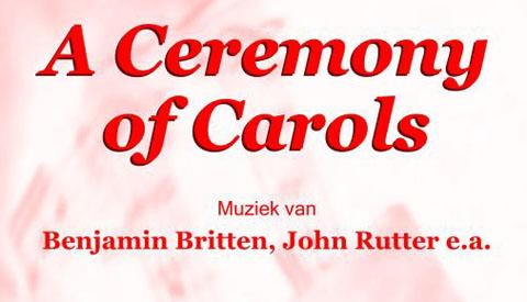 Kerstconcert A Ceremony of Carols in de Dorpskerk in Vreeswijk