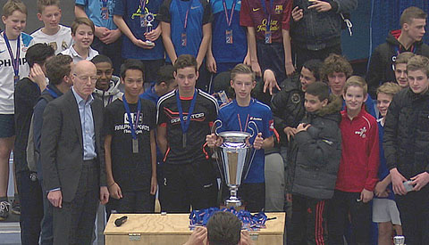 Cals College wint mini WK zaalvoetbal