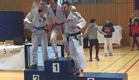 Goud en Brons voor Brian Frowyn op de Internationale Kodokan Open JiuJitsu