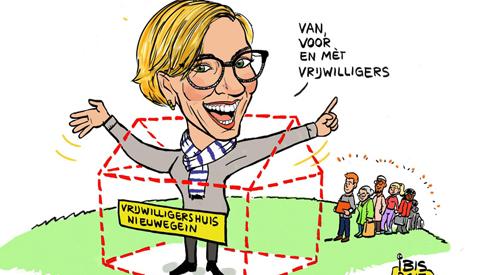 PENTekening: 'Het Vrijwilligershuis Nieuwegein'