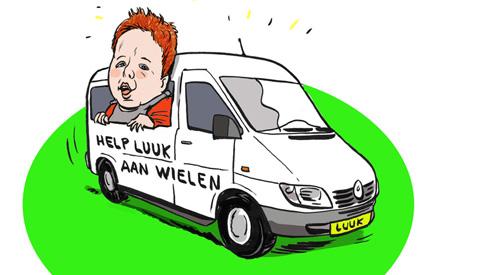 PENTekening: 'Help Luuk aan Wielen'