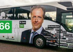 D66 kandidaat-Kamerleden maken kennis met Nieuwegein