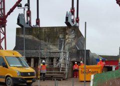 Video: Kazemat Vreeswijk-Oost arriveert ongeschonden op zijn nieuwe plek