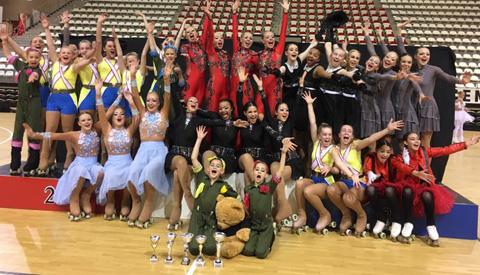 Succesvol Nederlands Kampioenschap Showrijden voor KRC Rolling in Almere