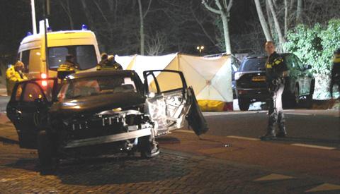 Man overleden na ernstig ongeluk op de Utrechtsestraatweg