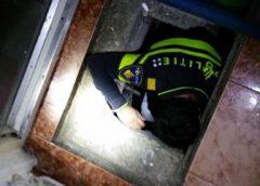 Mannen aangehouden in kruipruimte van woning aan de Havik