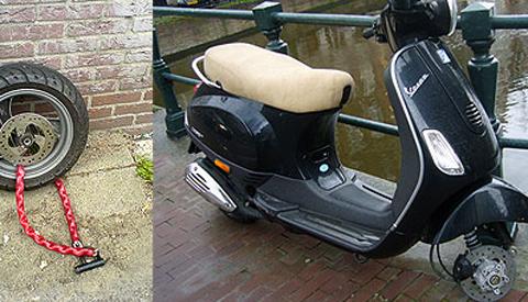 Opvallend veel diefstallen van bromfietsen in Nieuwegein
