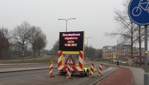 Fietsersbond Nieuwegein: 'Fietsersinformatie Structuurbaan ronduit belabberd!'