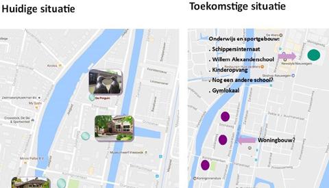 Vreeswijk krijgt mogelijk multifunctioneel gebouw voor school- en sport aan de Industrieweg