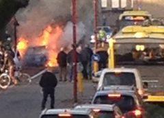 Autobrand op de Diepenbrocklaan