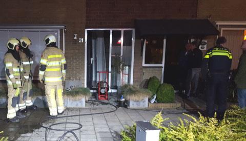 Klein brandje in woning aan de IJsselstraat in Vreeswijk