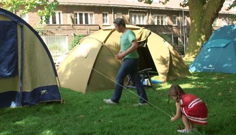 Buurtcamping niet in Park Oudegein