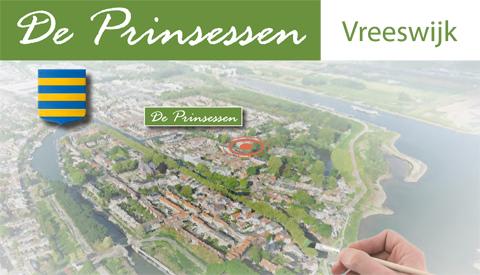Verkoop gestart nieuwbouw Vreeswijk 'De Prinsessen'