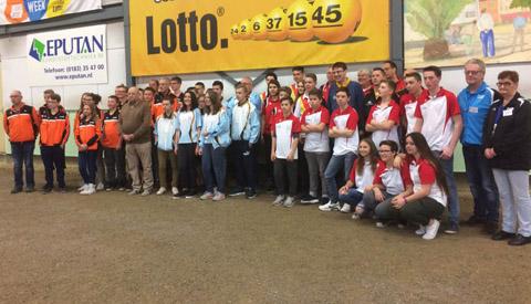 Wallonië wint Jeugdmasters Petanque in Nieuwegein