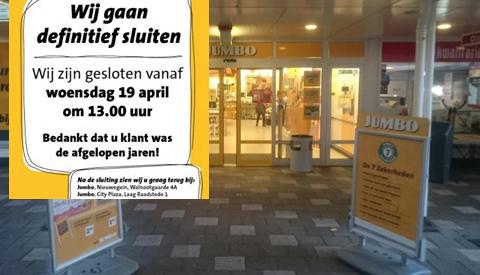 Jumbo sluit winkel op Makadocenter in Nieuwegein