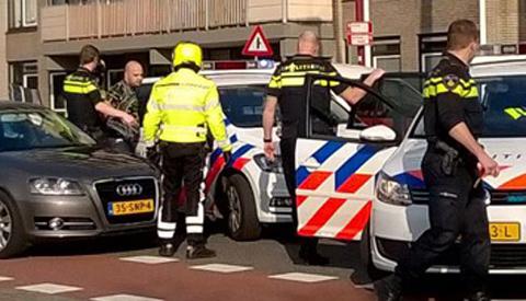 Man aangehouden op de Batauweg in Nieuwegein