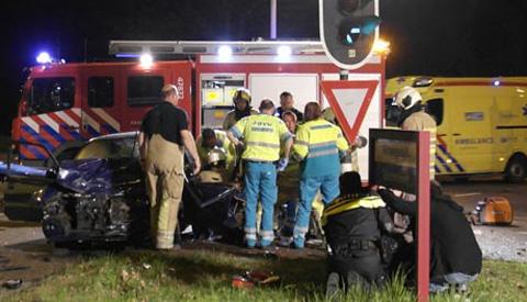 Zwaar ongeval op de Plettenburgerbaan