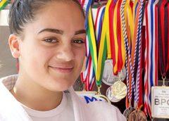 Derde plaats voor Bridget Zoetemeyer op WK Jiu Jitsu in Athene