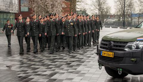Reservisten leggen eed af in Nieuwegein