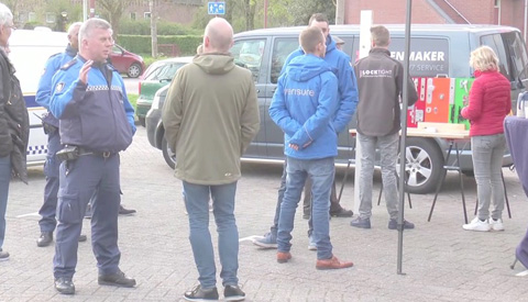 Eerste BuurTent een feit in Nieuwegein