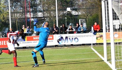 SV Geinoord en JSV spelen gelijk in stadsderby
