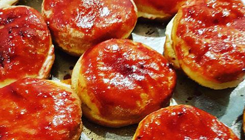 Koken met PEN: 'Eric's bollen'