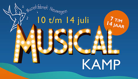 Musical-Zomerkamp in Bouwspeeltuin Bouwgein