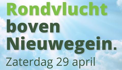 Helikoptervluchten boven Nieuwegein met PLUS van LOON